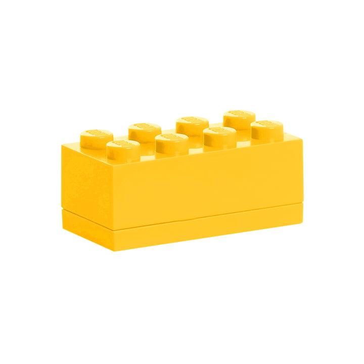Lego - Mini-Box 8, jaune