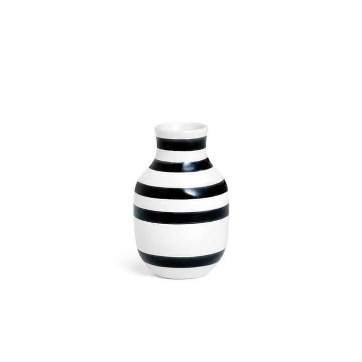 Omaggio Vase H 125 de Kähler Design en noir / blanc