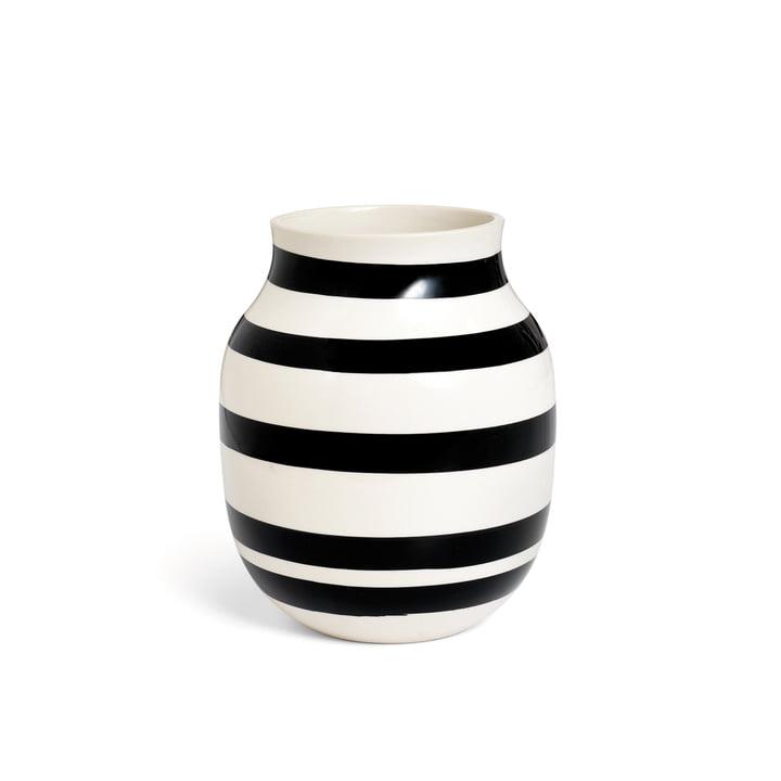 Omaggio Vase H 200 de Kähler Design en noir