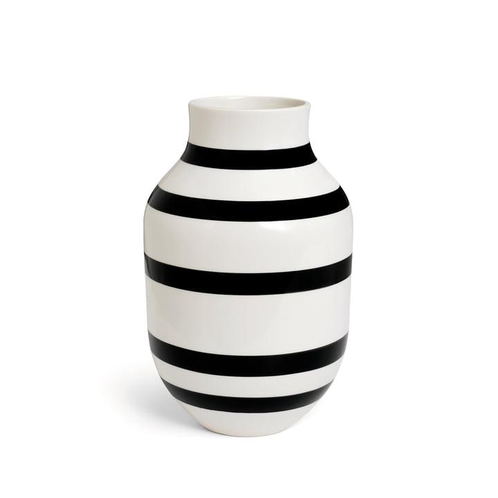 Kähler Design - Vase Omaggio h305 en noir