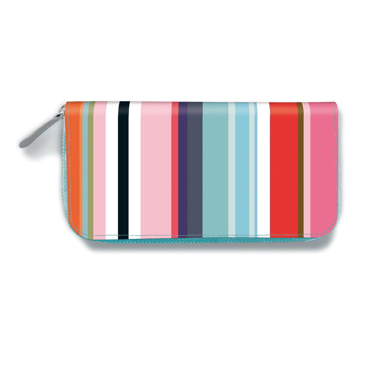 Remember - Portefeuille pour dames, Colour Stripes