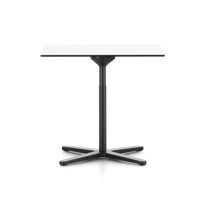 Super Fold Table 75 x 75 cm par Vitra en blanc (revêtue de mélamine)