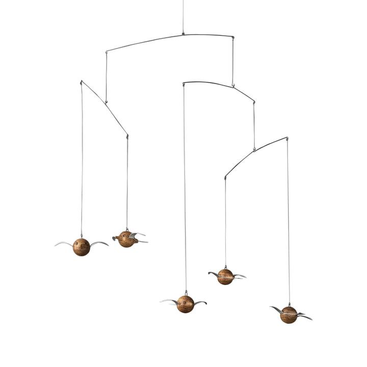 Hoptimist - Mobile Woody Birdie, bois de chêne
