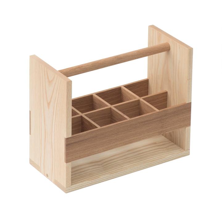 Auerberg - Bottle-Box, frêne/chêne