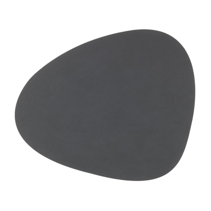 Set de table Curve L by LindDNA in Nupo anthracite
