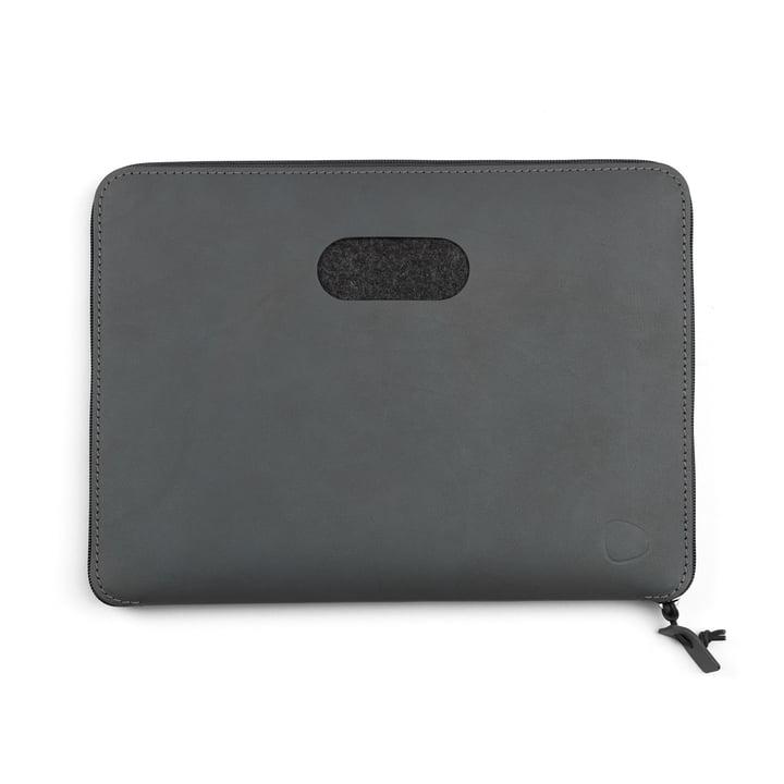 LindDNA - Pochette pour ordinateur portable Torro 15″ en anthracite