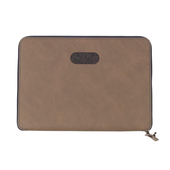 LindDNA - Pochette pour ordinateur portable Torro 15″ en marron