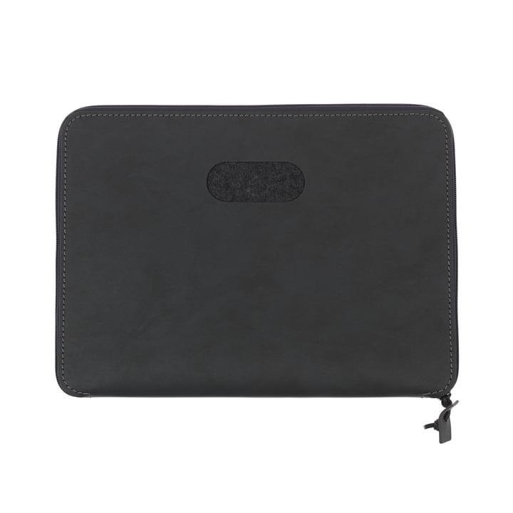 LindDNA - Pochette pour ordinateur portable Torro 15″ en noir