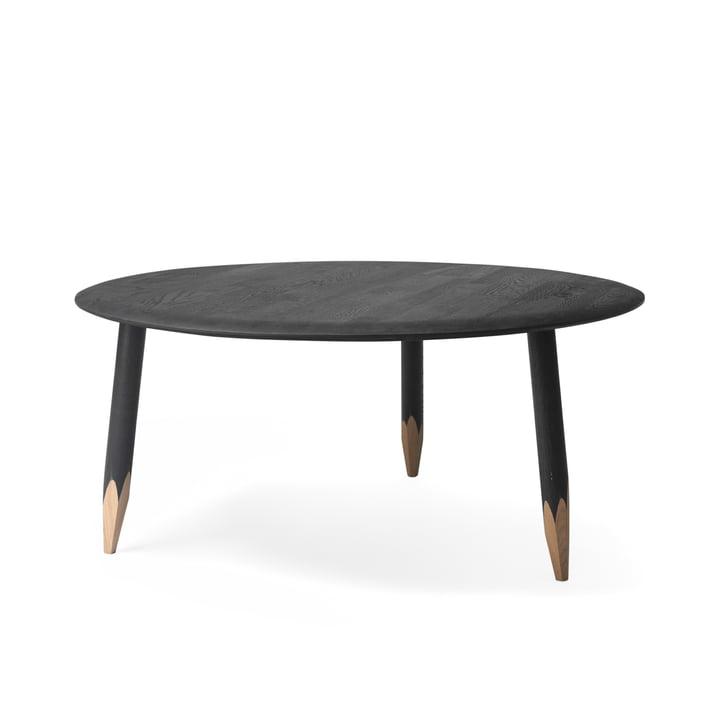 Table basse Hoof SW2 par &Tradition en noir