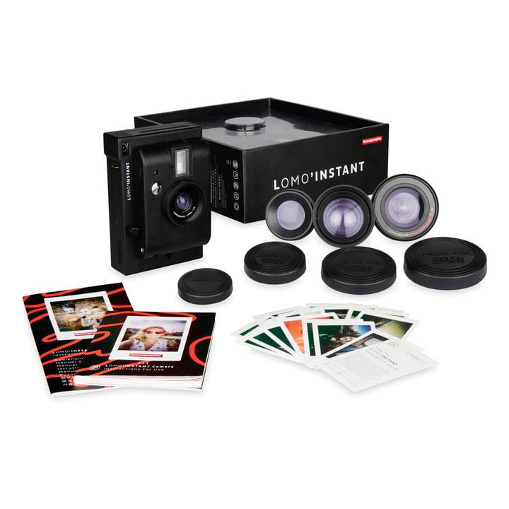 Lomo 'Instant Camera Lens Kit de Lomography en noir :