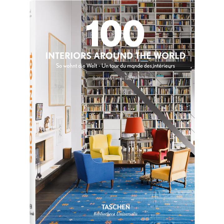 100 Interiors autour du monde par la maison d'édition TASCHEN