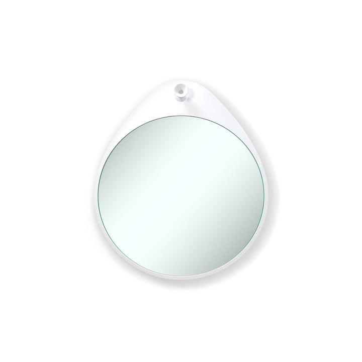 Rizz - Miroir mural The Egg en blanc