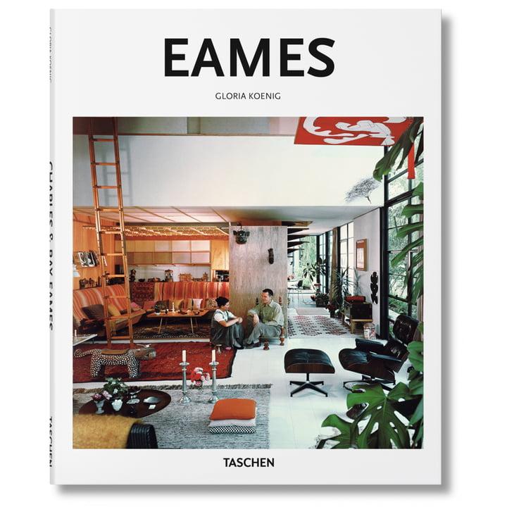 Couverture livre Eames - Architecture de Taschen en petite série 2.0