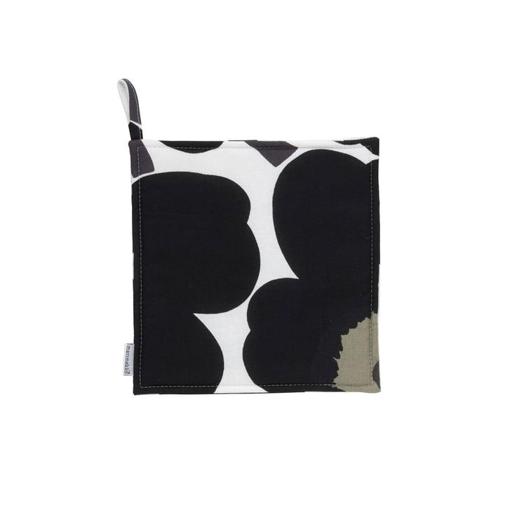 Pieni Unikko maniques de Marimekko en noir