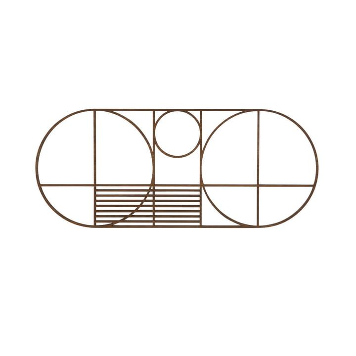 Dessous de plat Outline de ferm Living en version ovale