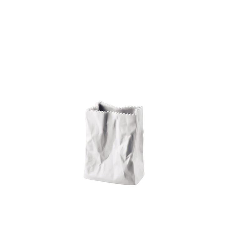 Rosenthal - Vase sachet 10 cm, blanc-mat poli
