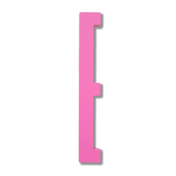 Wooden Letters Indoor E de Design Letters en rose