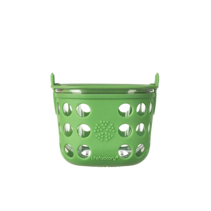 Boîte en verre 0,4litre de Lifefactory, vert