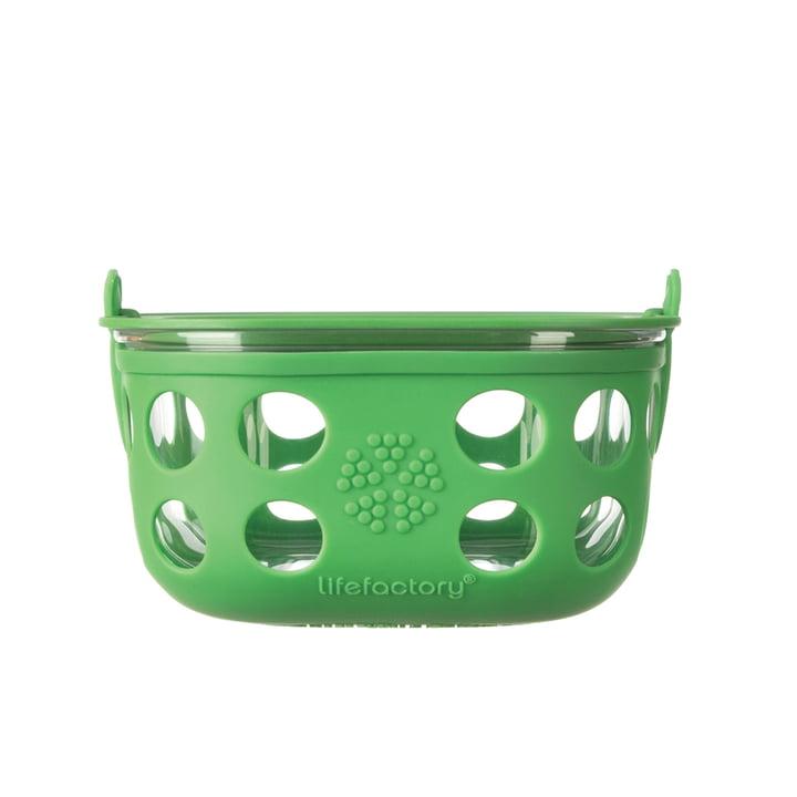 Boîte en verre 0,9litre de Lifefactory en vert