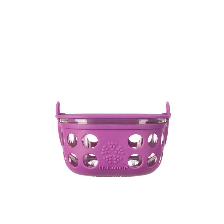 Boîte en verre 0,2litre de Lifefactory en violet