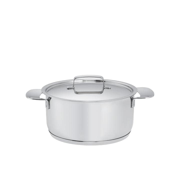 Fiskars - Faitout All Steel + avec couvercle, 2,5l / Ø 18cm