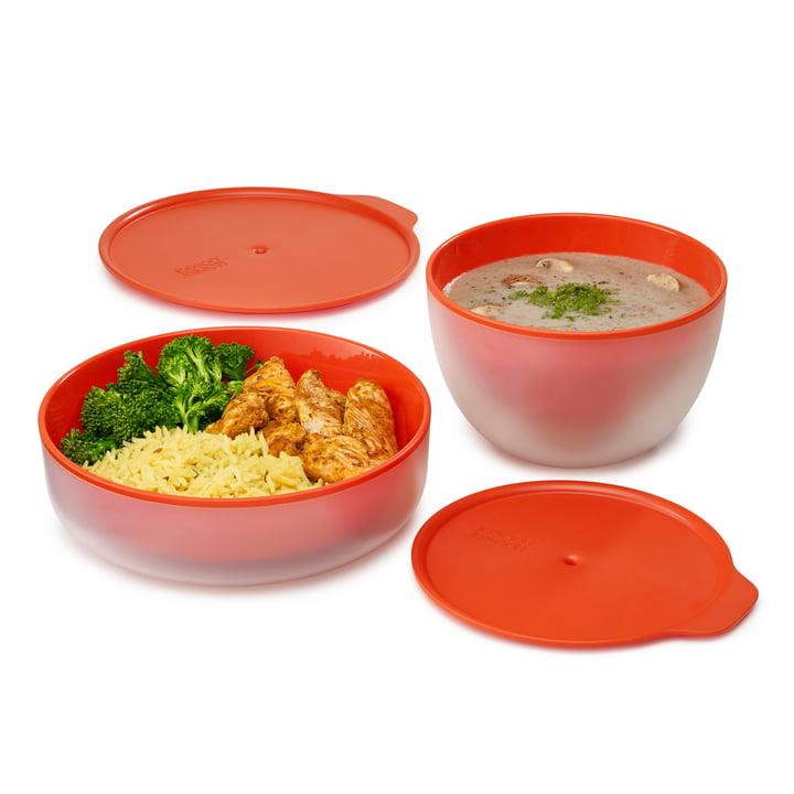 Assiette et bol pour micro-ondes M-Cuisine Cool-Touch de Joseph Joseph
