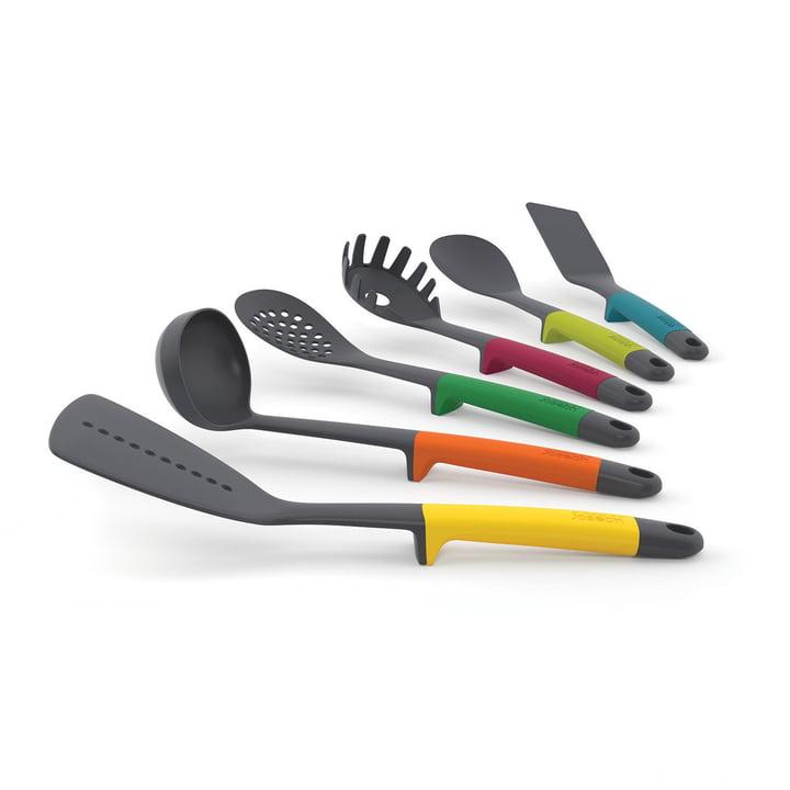 Joseph Joseph - Ustensiles de cuisine Elevate (6 pièces, multicolore)