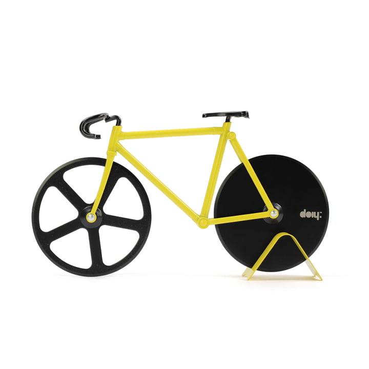 Coupe-pizza Fixie Pizza Cutter Bumblebee de Doiy
