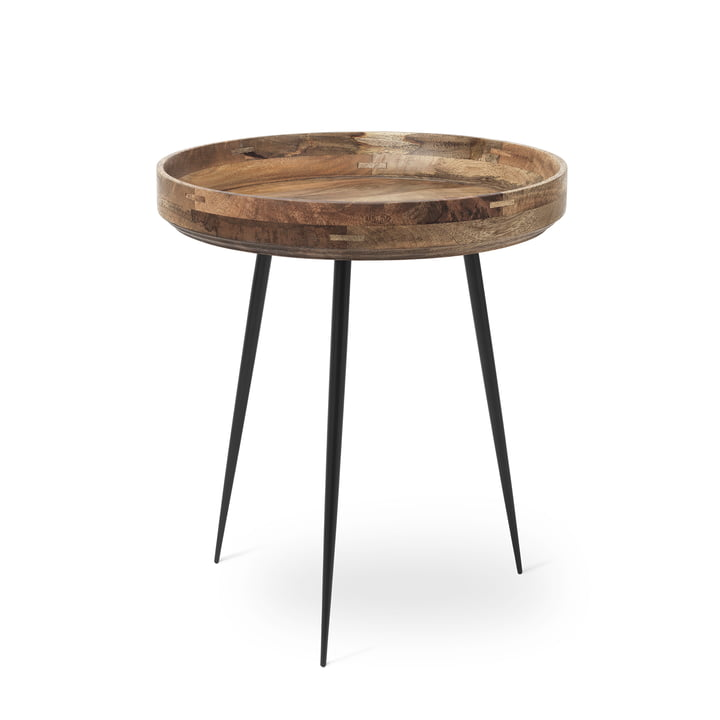 Table Bowl en moyen format de Mater en manguier naturel