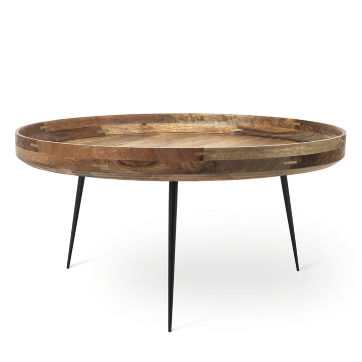 Table Bowl en format XL de Mater en manguier naturel