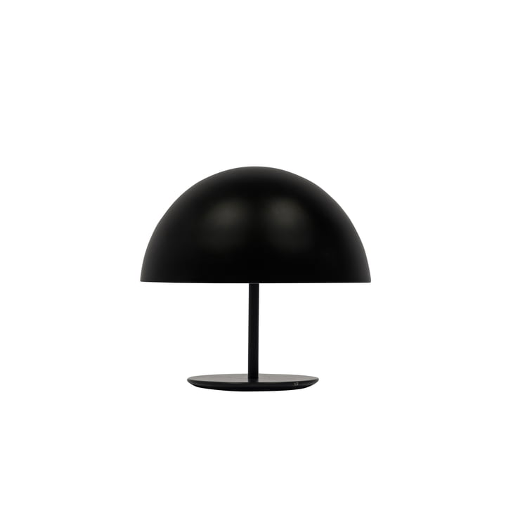 25 CmNoir Lampe Table De Mater DomeØ j54RAL3