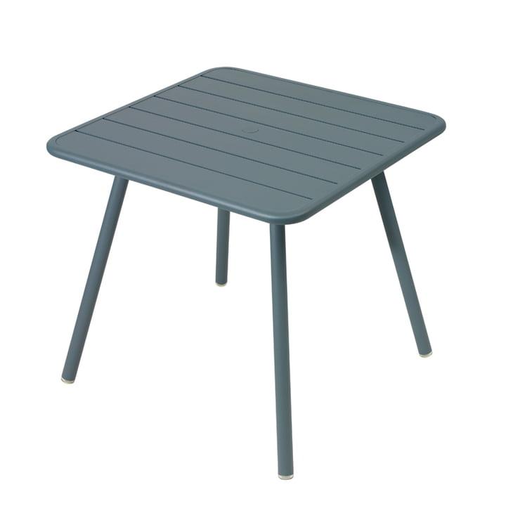 Table Luxembourg 80 x 80cm de Fermob en gris orage