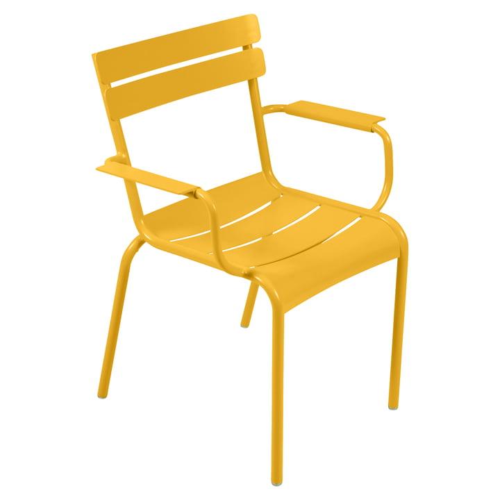 Luxembourg fauteuil de fermob en couleur miel
