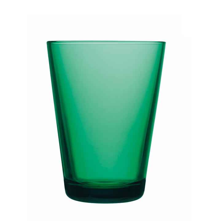 Iittala - Verre à boire Kartio 40 cl, vert émeraude