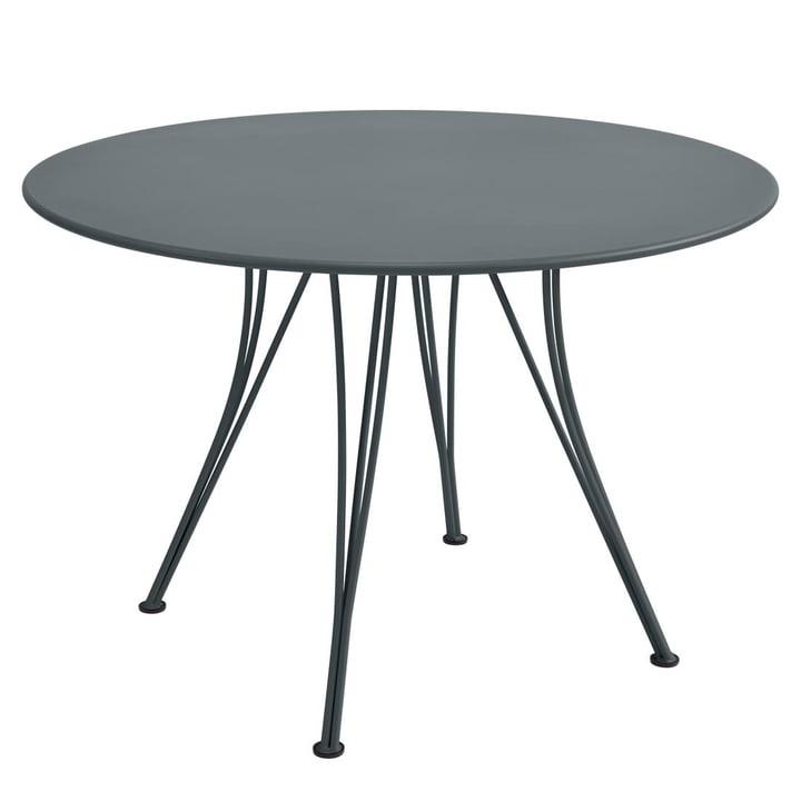 Table Rendez-Vous ronde Ø 110cm de Fermob en gris orage