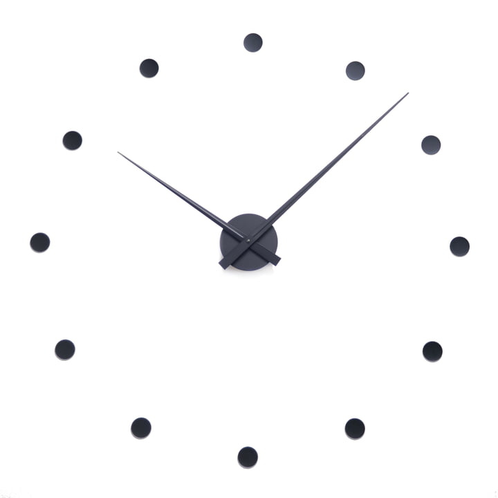 Radius Design - Horloge murale Flexible, noir