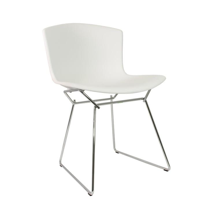 Knoll - Bertoia Chaise en matière plastique en blanc