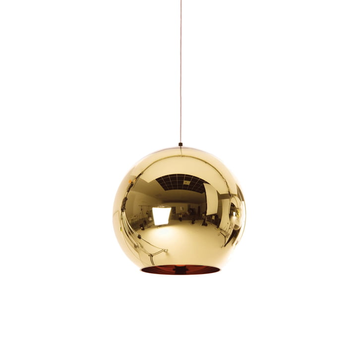 Suspension lumineuse Bronze Copper Ø 25 cm de Tom Dixon