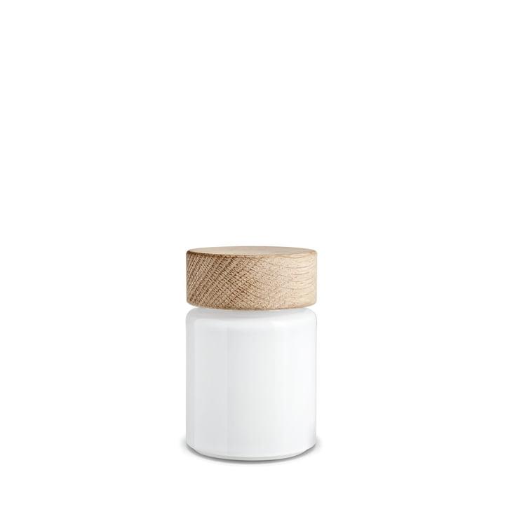 Moulin à sel Palet 75ml de Holmegaard en blanc