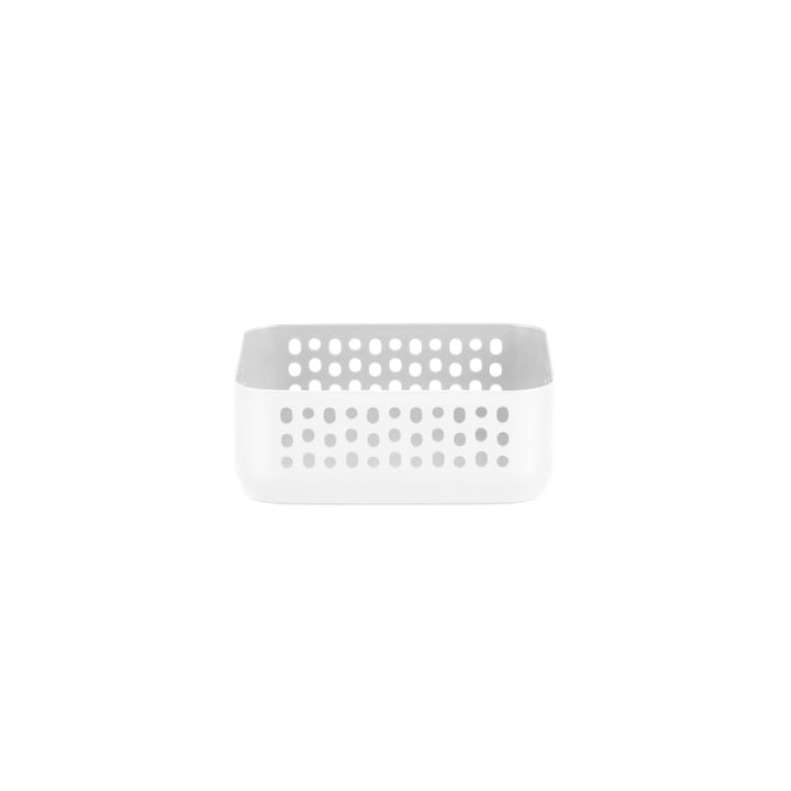 Boîte de rangement Nic Nac 10,5x10,5xh4cm de Normann Copenhagen en blanc