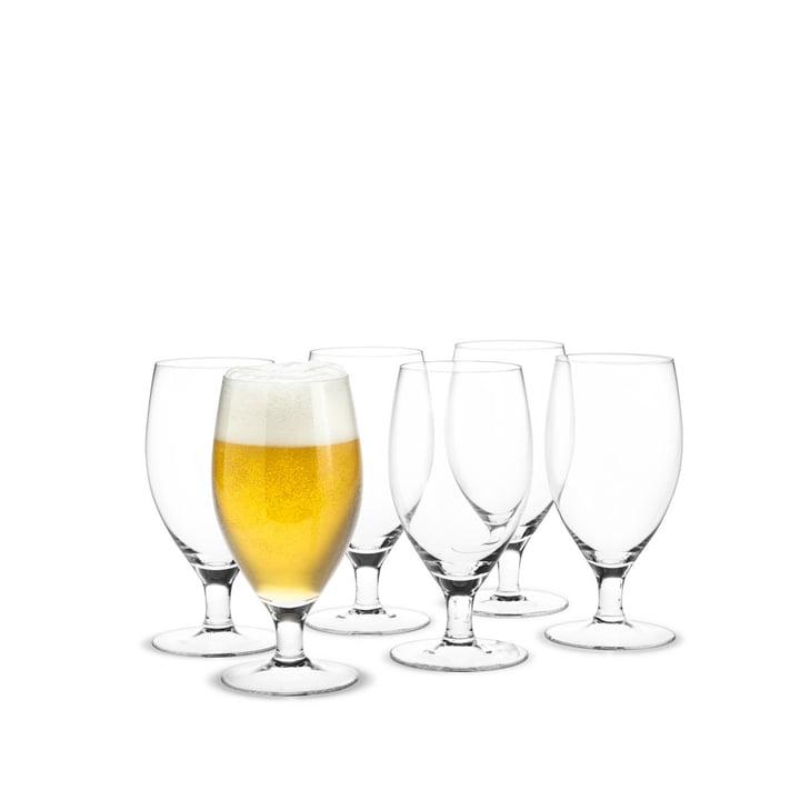 Royal Verres à bière, 48 cl (Set de 6) de Holmegaard
