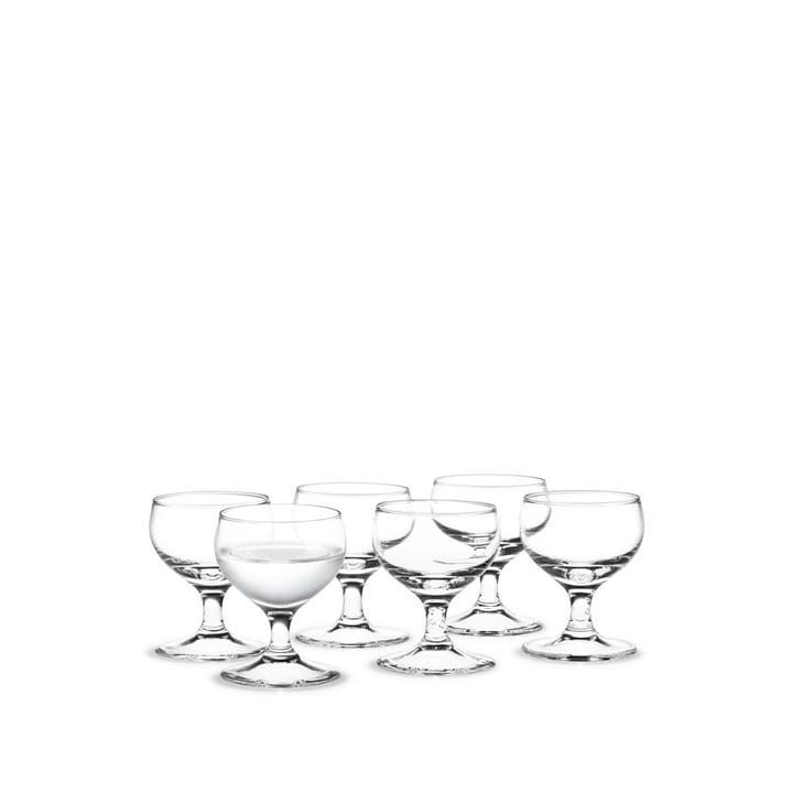Royal Verres à liqueur, 6 cl (Set de 6) de Holmegaard