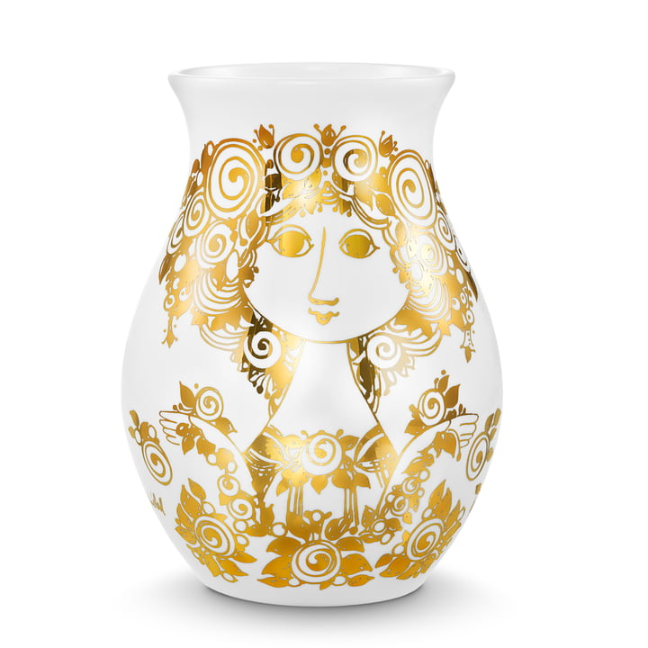 Bjørn Wiinblad - Vase Rosalinde, doré