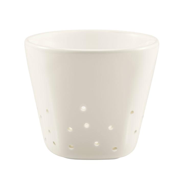 Iittala X Issey Miyake - Support pour bougies chauffe-plat 70 mm, blanc
