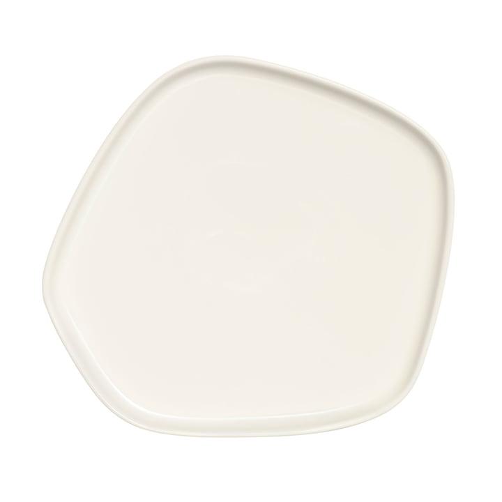 Iittala X Issey Miyake - assiette 21x20 cm, blanc