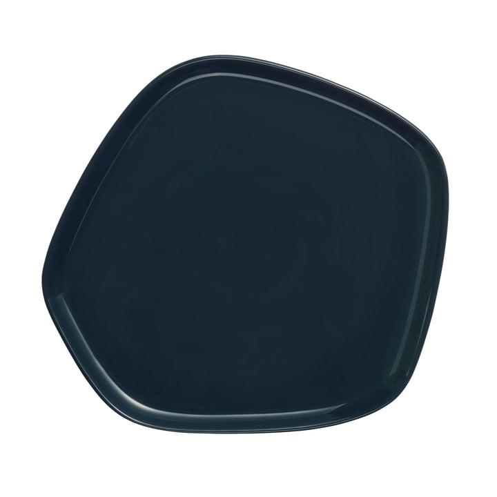 Iittala X Issey Miyake - assiette 21x20 cm, vert foncé