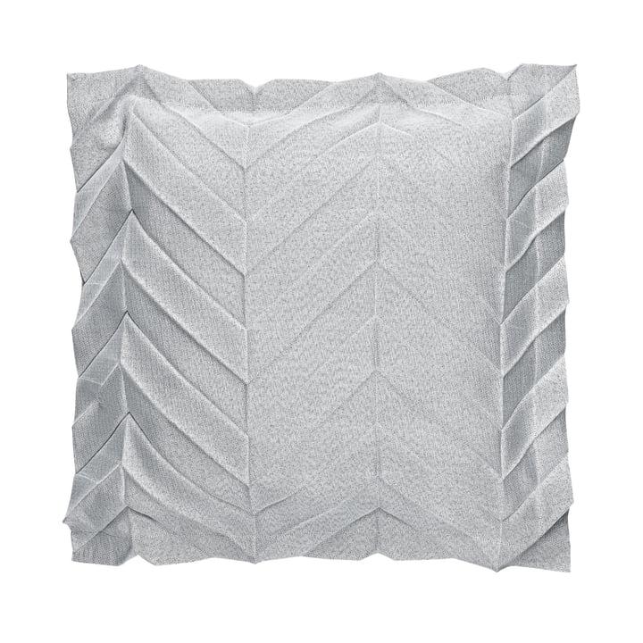 Iittala X Issey Miyake - Housse de coussin 50 x 50 cm zigzag, bleu clair