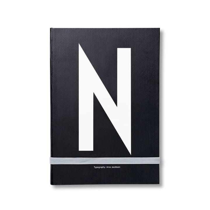 Design Letters - Carnet personnel de A à Z, N