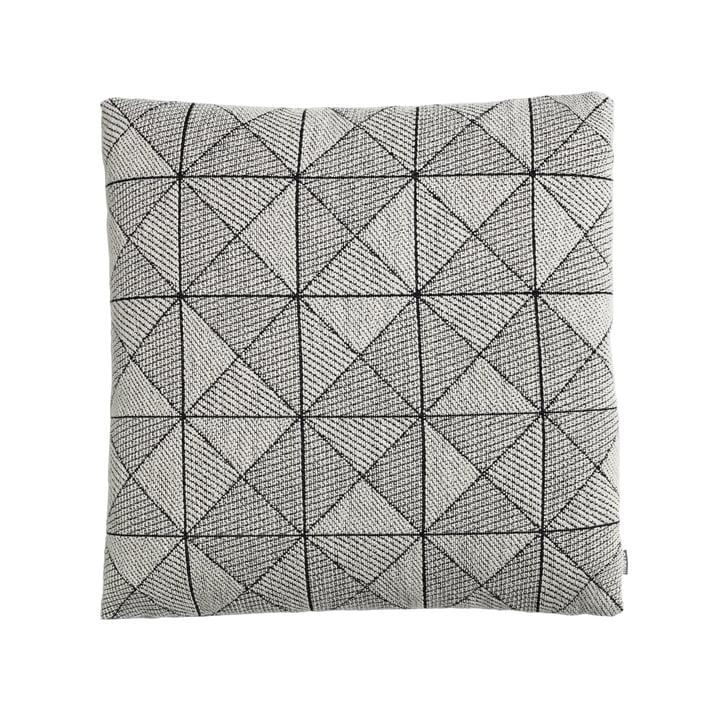 Coussin Tile de Muuto en noir et blanc