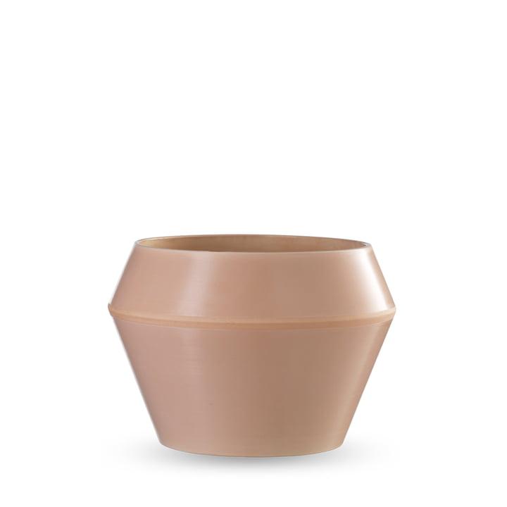 by Lassen - Cache-pot Rimm modèle moyen, caramel